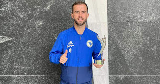 'Barcelona move crowns my career. It is something phenomenal':  Pjanic after winning Bosnia Sportsman of the Year award.