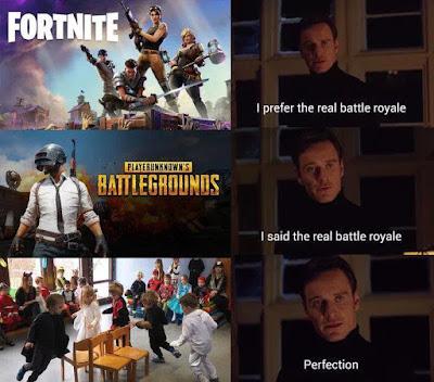 I prefer the real Battle Royale