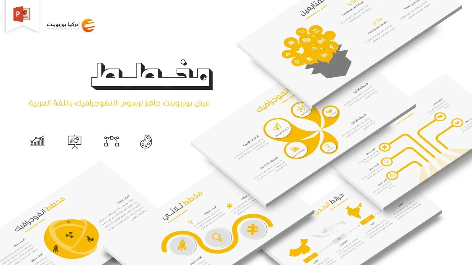 قوالب بوربوينت مجانية عربية متحركة 2020