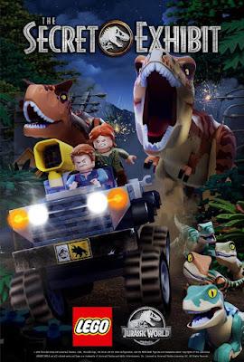 LEGO Jurassic World The Secret Exhibit 2018 DVD R1 NTSC Latino