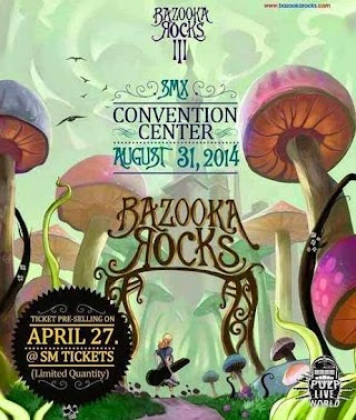 Bazooka Rocks 2014, Ticket Price, Band Line up and Date
