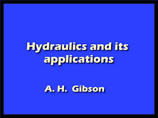 Hydraulics and its applications