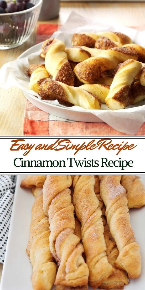 Cinnamon Twists Recipe #desserts #cakerecipe #chocolate #fingerfood #easy