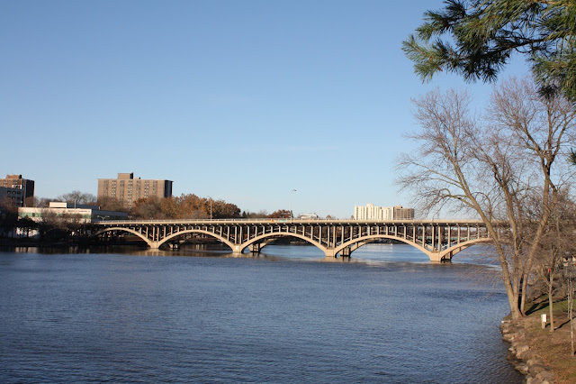 Bridge over the Rock River.