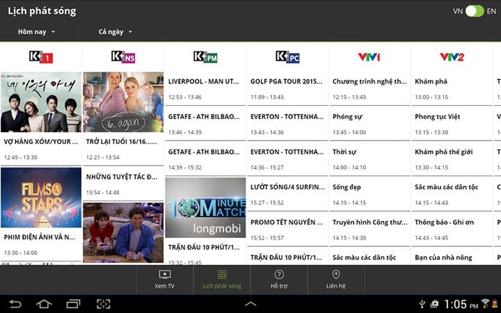 tv box xem my k+ on dinh
