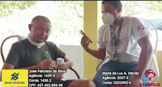 Em Araçagi PB, Radialista Feliciano Silva luta pela vida, e recebe apoio de colegas radialistas