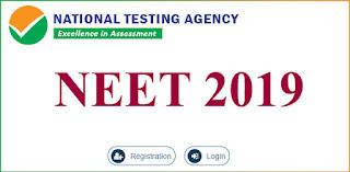 National Testing Agency NEET 2019