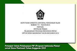 Petunjuk Lengkap Pelaksanaan PIP Di Madrasah Terbaru