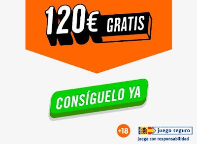 bono de luckia.es para apuestas 120 euros gratis de bienvenida