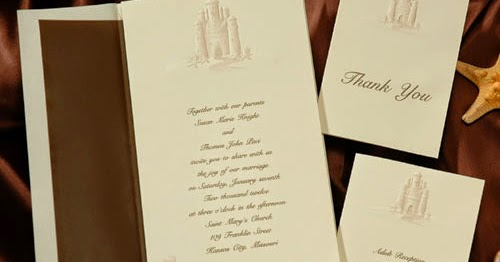 Unity Sand Ceremony: New Beach Wedding Invitations