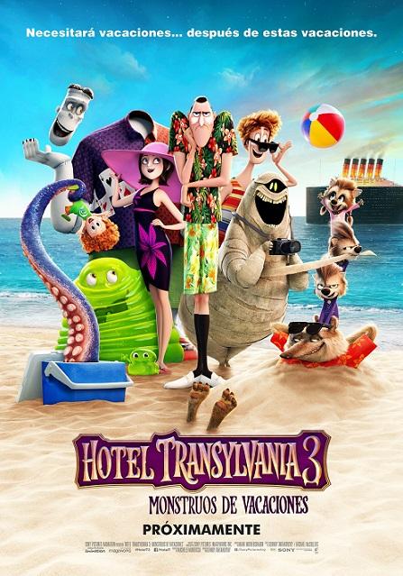 Hotel Transylvania 3: Summer Vacation (Hotel Transylvania 3: Monstruos de Vacaciones) (2018) 720p y 1080p WEBRip mkv Dual Audio AC3 5.1 ch