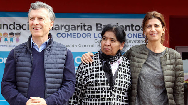 Macri inauguró un hogar para adultas mayores junto a Margarita Barrientos en Santiago del Estero