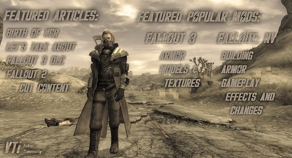 Weekly Overview in Fallout Gamers World
