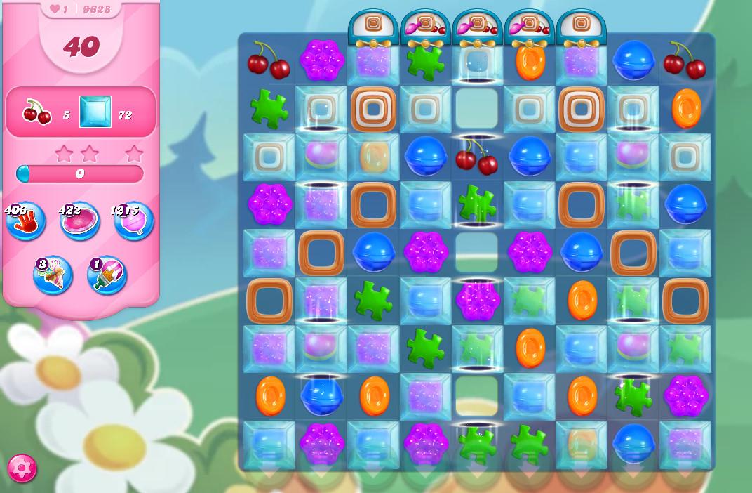 Candy Crush Saga level 9628