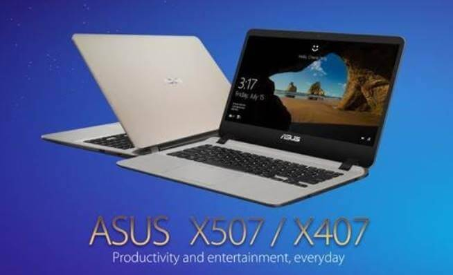 ASUS Launches X507 and X407 Premium Notebooks; Price Starts at Php27,995