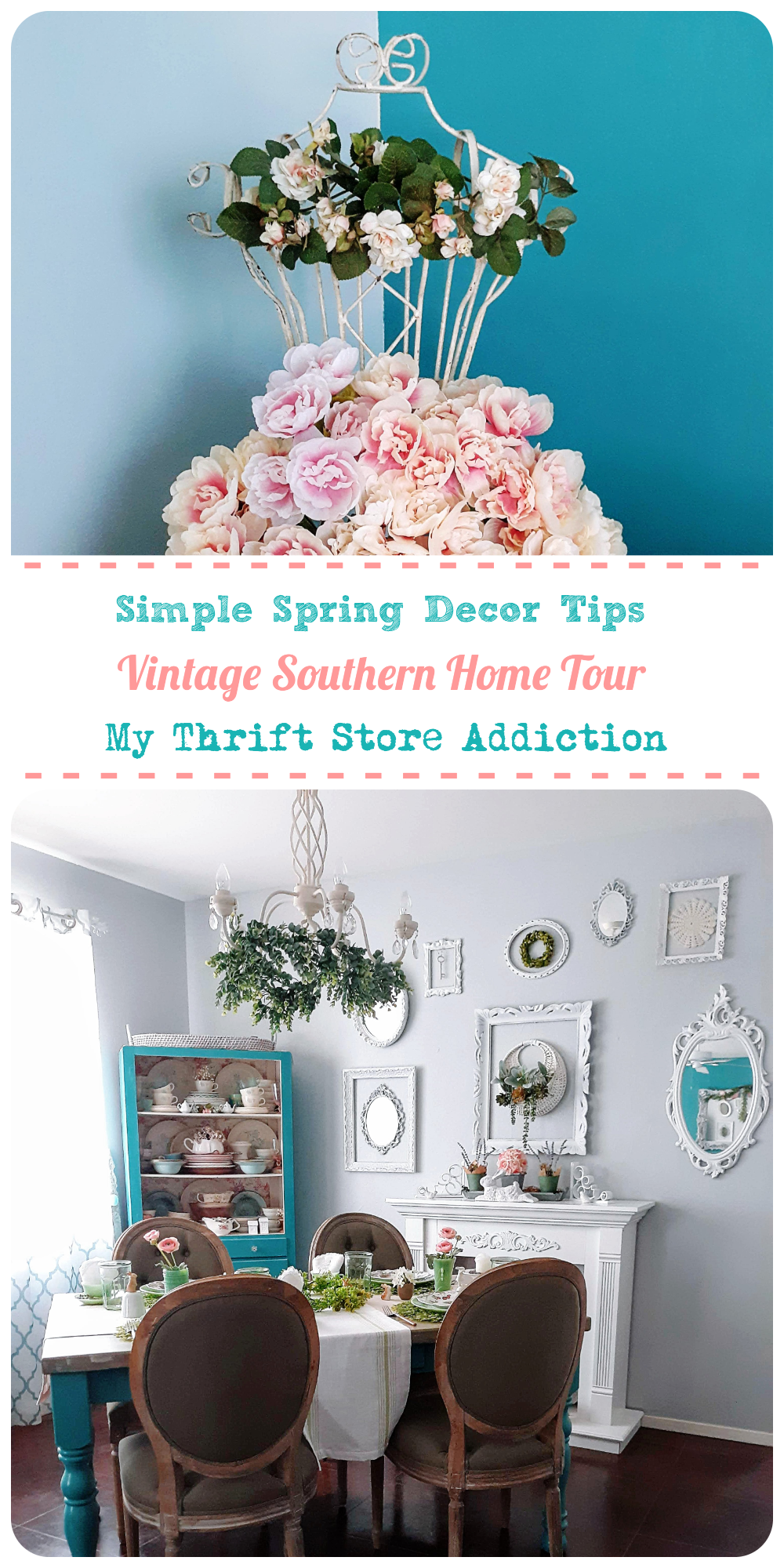 vintage southern spring home tour