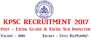 Excise Sub Inspector & Guards