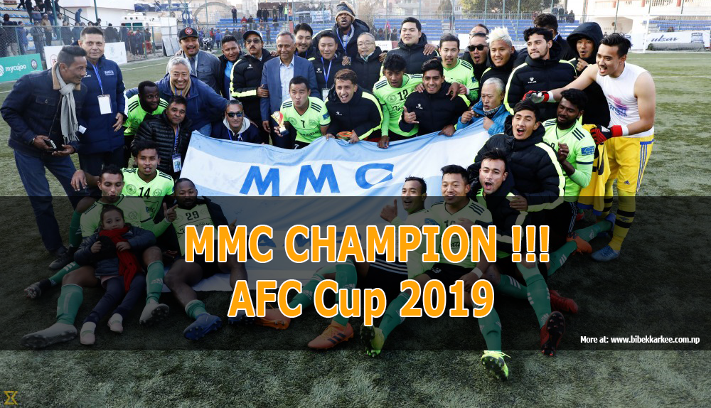 Manang Marshyangdi Club to Represent Nepal In AFC Cup 2019 , Manang Marshyangdi Club will compete against Minerva Punjab Fc, Dhaka Abahani Limited and a team from India/Bhutan/Sri Lanka, live streaming, full schedule, fixture and table