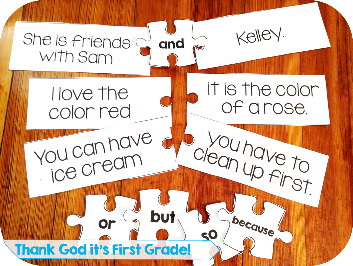 First Grade Common Core Language Activities And Printables