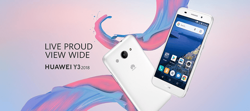 Huawei Y3 2018 with Android Oreo (Go edition) goes official!