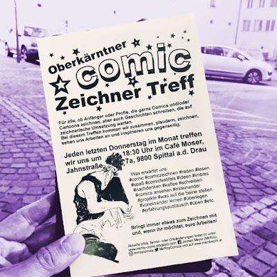Comiczeichner und Cartoonisten Stammtisch im Süden Österreichs