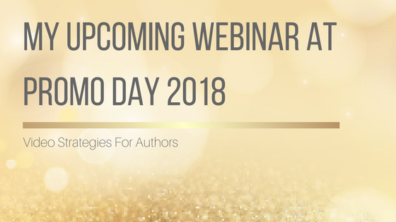 My Upcoming Webinar at #PromoDay2018
