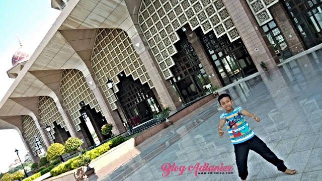 Sepagi di Putrajaya | Dhuha di Masjid Putra