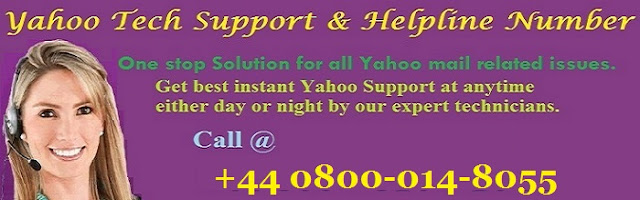 yahoo support number uk