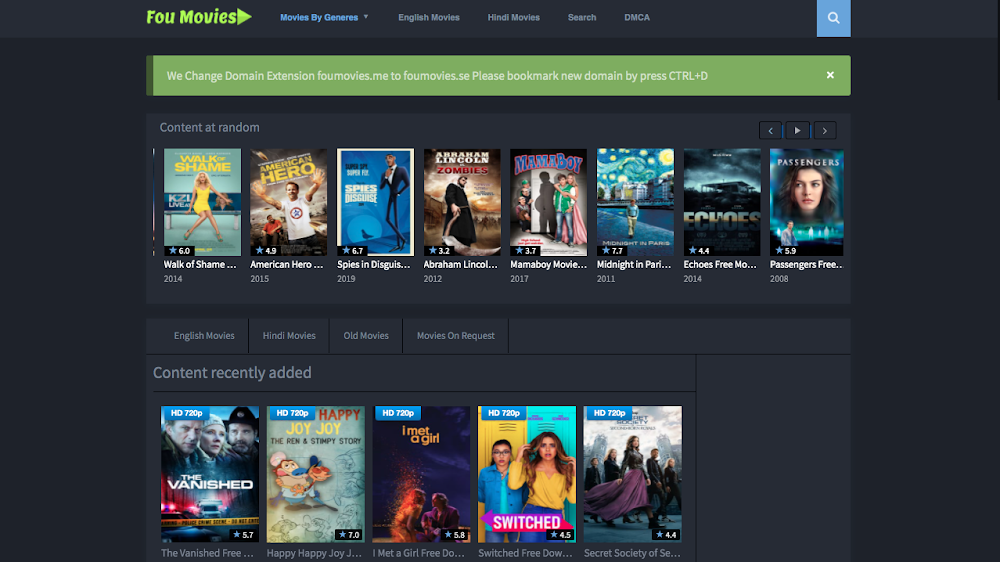 FouMovies: How To Download Hindi Movies & New Movies Releases In HD, MP4 For Free