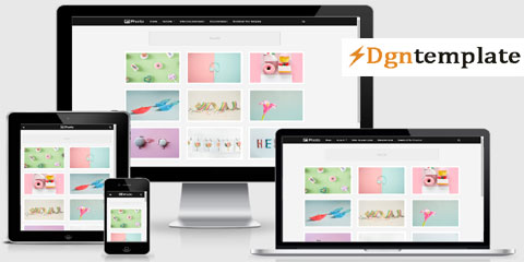 Phorto Wallpaper Blogger Template [premium] dgntemplate