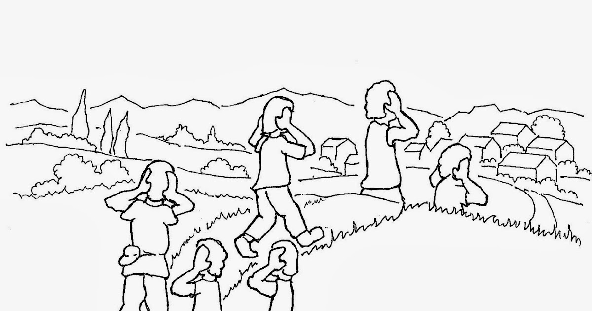 Coloring Pages For Kids By Mr Adron The Boy Who Cried Wolf Free Page Of Aesops Fable