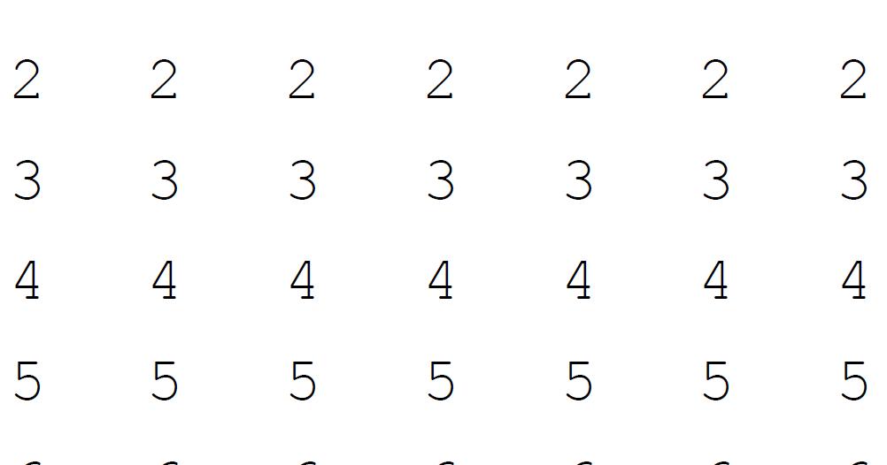 1 Sınıf Matematik üzerinden Geçmeli Rakamlar çalışması Etkinliği