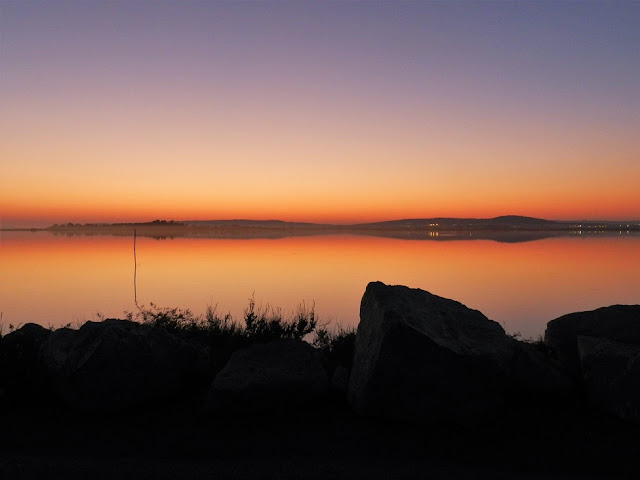 tramonto paludi montpellier