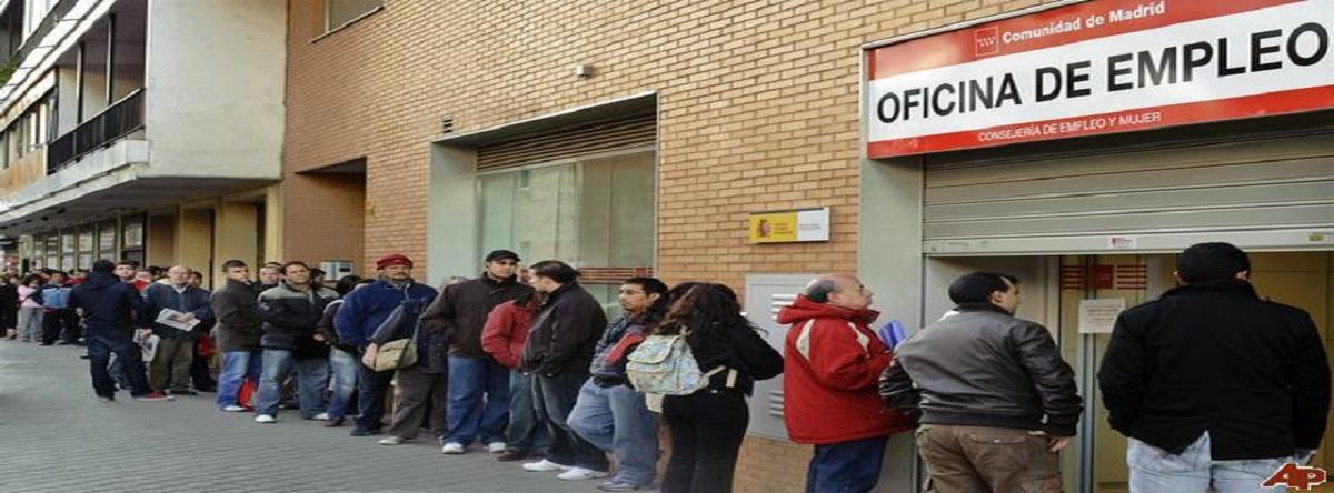 el paro sube en España