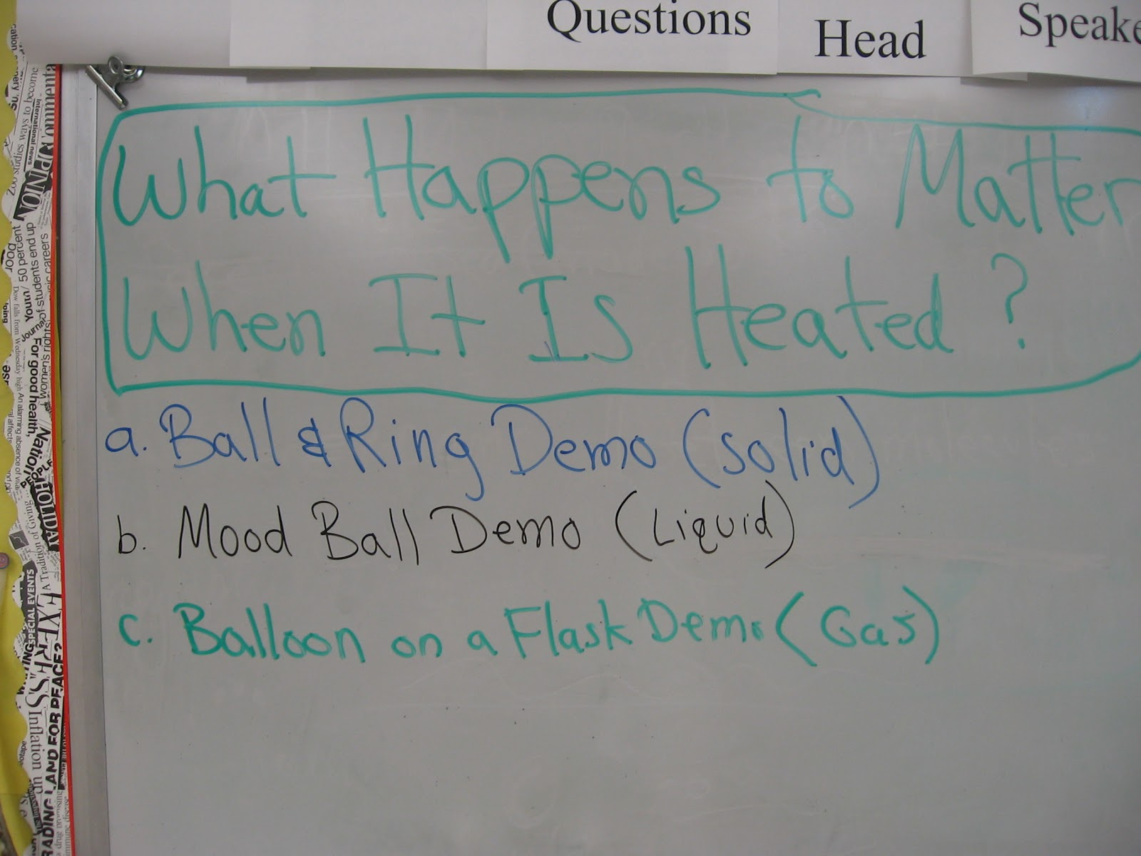 Mr Williams 6th Grade Science Blog What Happens To
