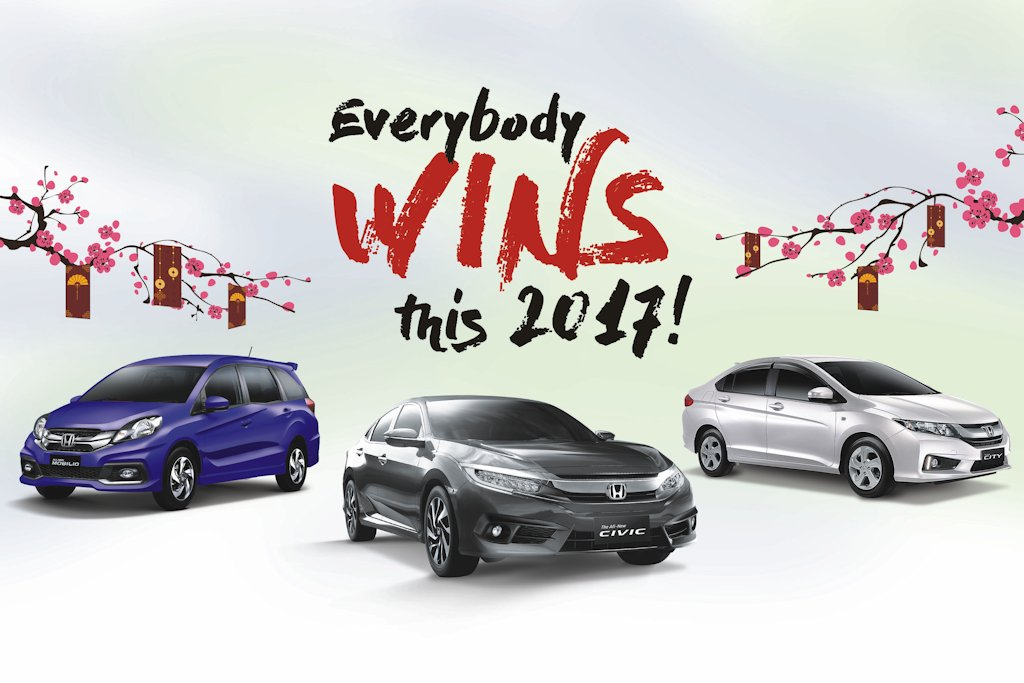 Honda Cars Philippines Inc Welcomes The New Year With Everybody Wins This 2017 Campaign For Customers Who Will Inquire Test Drive Reserve And Purchase A