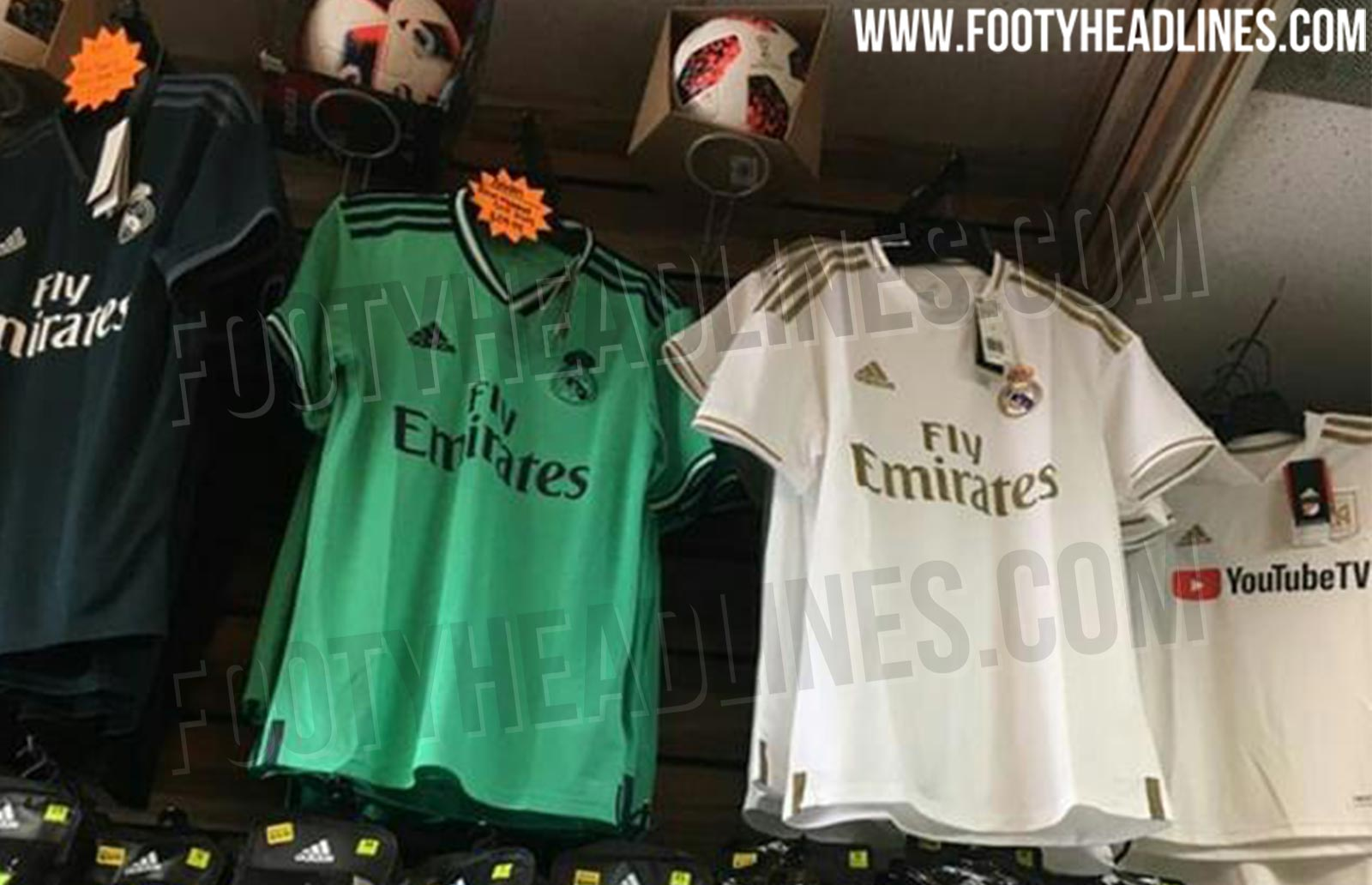 huge selection of 82f4a d03f7 Real Madrid 19-20 Home, Away & Third Kits Leaked - Release ...