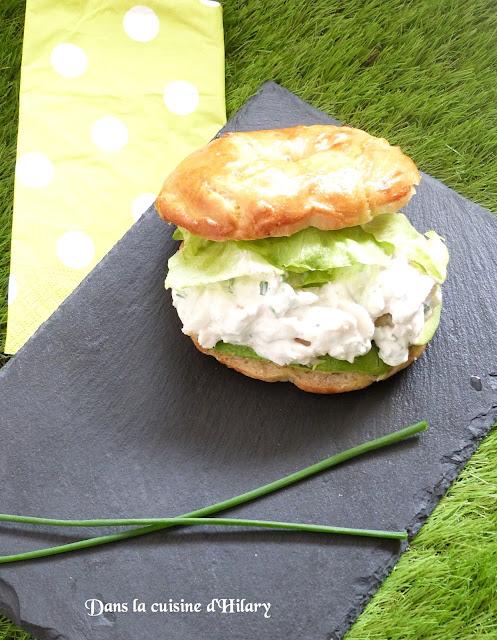 Bagel home-made façon salade de crabe