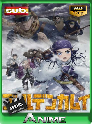 Golden Kamuy temporada 3  [12/12] Subtitulado HD [720P] [GoogleDrive] DizonHD