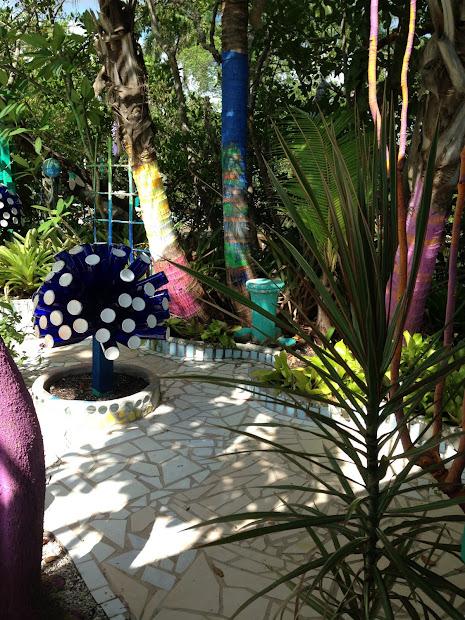 Whimsical Garden In Matlacha Florida