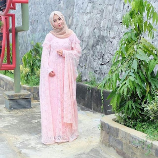 Dress Kebaya Brokat