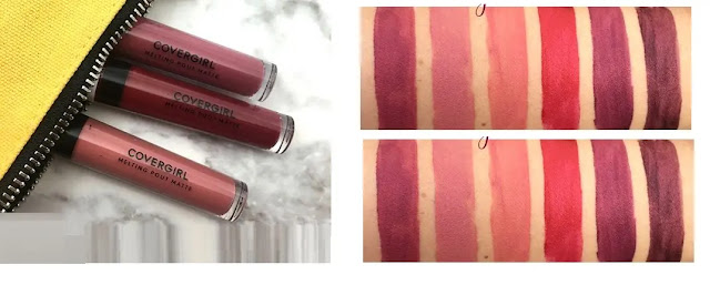 Covergirl Melting Pout 24HR Matte Liquid Lipstick review