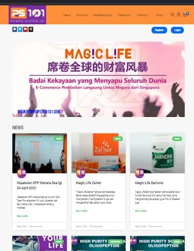 Pembuatan website untuk MULTILEVEL MARKETING