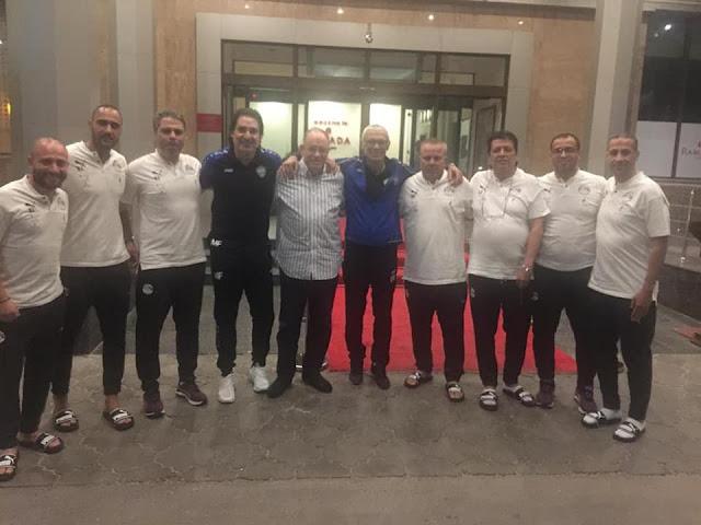 كوبر يزور المنتخب الأوليمبي ويؤكد أنه يعشق تراب مصر