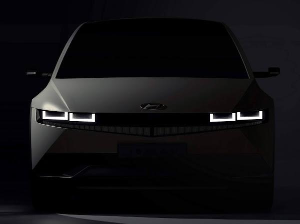 Hyundai Ioniq 5  elétrico chega em fevereiro - fotos e vídeos