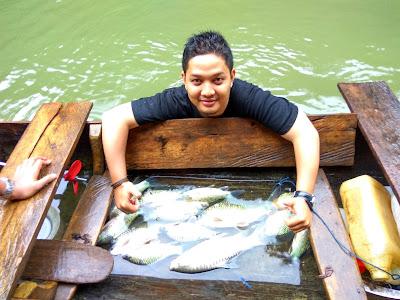 ikan tangkapan penduduk lokal