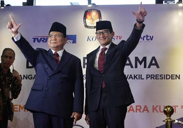 Disokong 50 Juta Suara Koalisi dan 35 Juta Massa PA 212, Prabowo-Sandi tak Perlu Curang