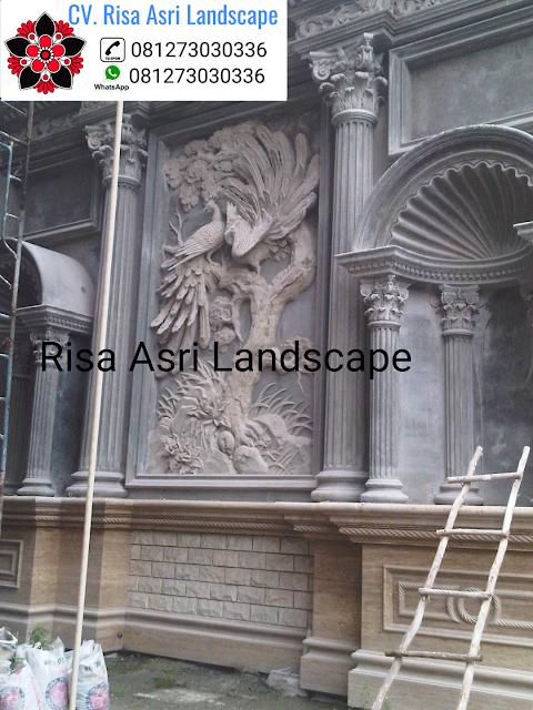 CV. RISA ASRI LANDSCAPE gambar ornamen relif dinding 3d profil