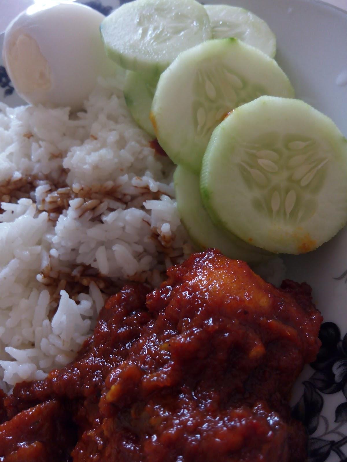 cara buat sambal nasi lemak