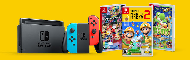 Cold Stone Creamery will be giving away this awesome Nintendo Switch Prize Package, complete with three games, worth nearly $500 to TEN lucky winners!